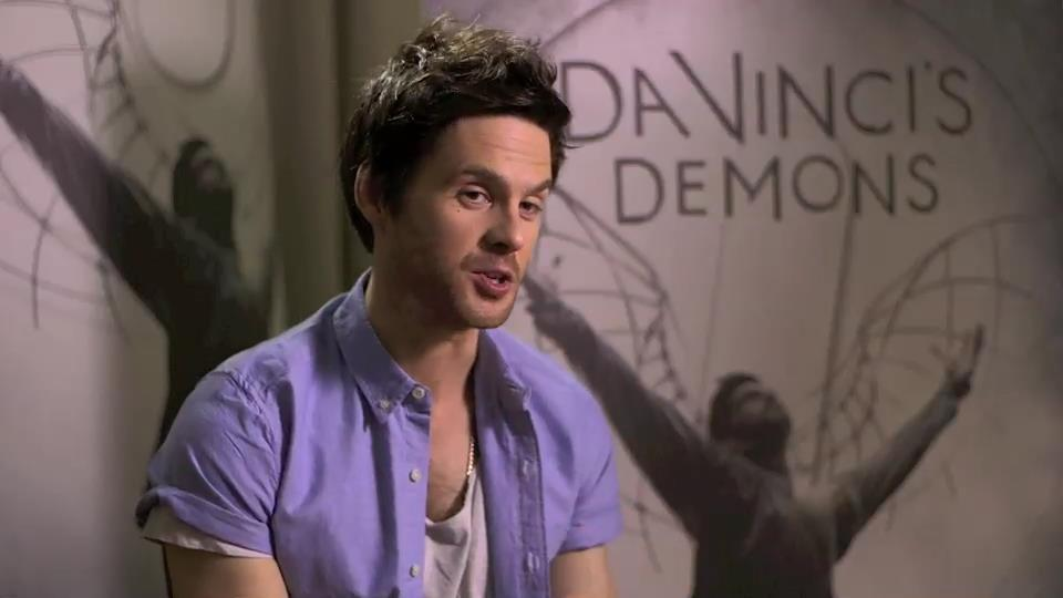 "Tom Riley parla di ""Da Vinci"