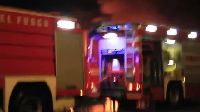 ostia cronaca incendio glam lungo mare,183 ore 22,30