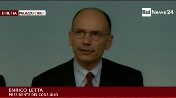 Letta: Imu sospesa a giugno, entro 31 agosto riforma 