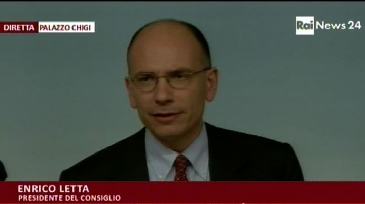 Letta: Cig rifinanziata per un miliardo di euro 