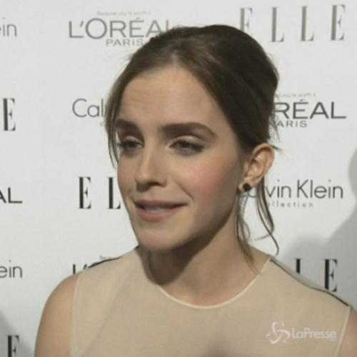 Emma Watson: Sono orgogliosa di Harry Potter, ma felice di ...