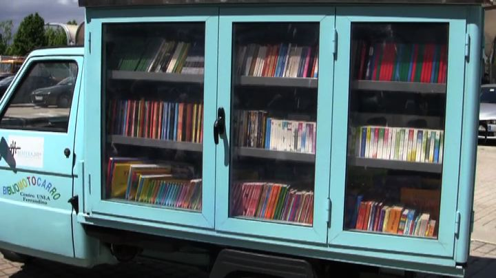 "Un ""Bibliomotocarro"" per avvicinare i bambini alla lettura"