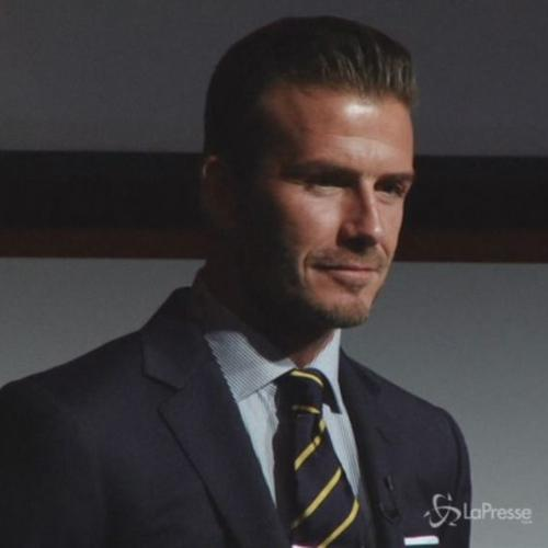 David Beckham: personal shopper di sua figlia