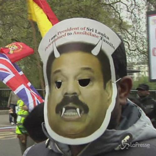 Londra, manifestazione Tamil a quattro anni dalla sconfitta ...