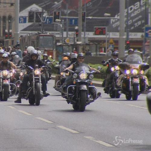 Polonia, 500 motociclisti di Harley Davidson in raduno a ...
