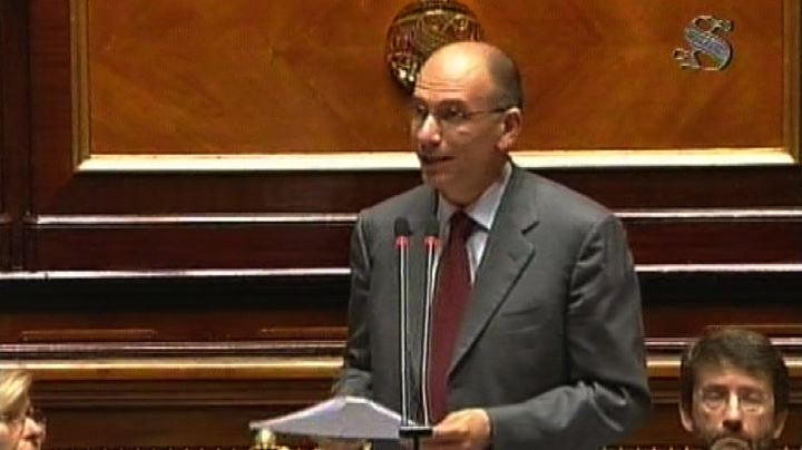 Letta: Europa di oggi non ci basta, vogliamo di pi 