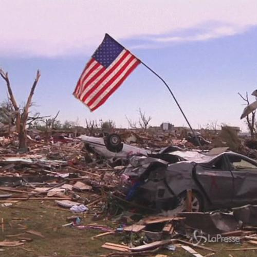 Usa, agenzia meteo alza forza tornado Oklahoma a livello ...