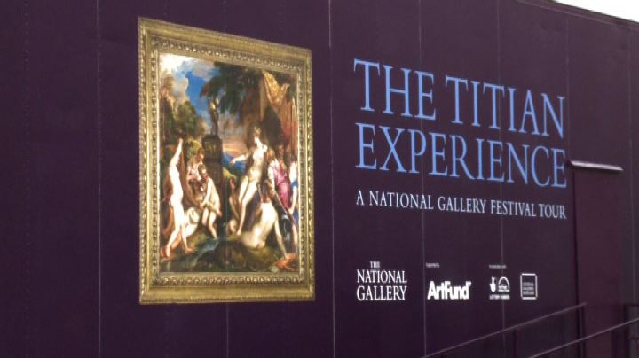 National Gallery Tour: un Tiziano itinerante per l'estate ...