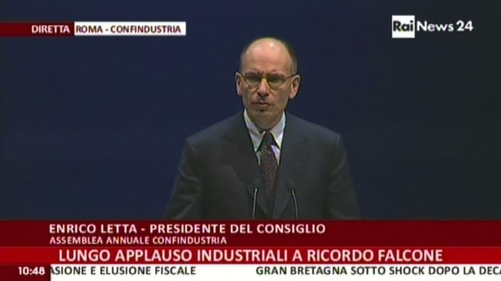 Letta: nuova leadership industriale in Europa