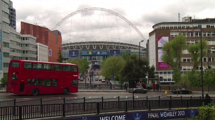 Champions League, Wembley pronto a ospitare la finalissima