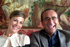 """Vanessa Incontrada e Carlo Conti: """"Noi uniti dall"""