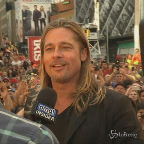 New York, Brad alla prima di World war Z