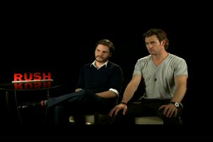 "Chris Hemsworth e Daniel Bruhl: parlano i protagonisti di ""Rush"""