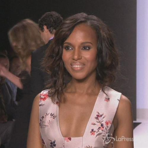 Kerry Washington incinta, terza stagione 'Scandal' ridotta