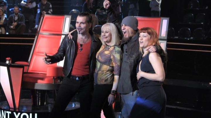 Su Raidue torna The Voice of Italy con Carrà, Pelù, Noemi ...