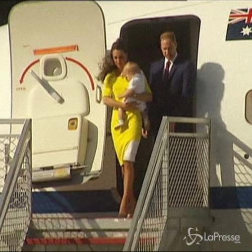 William e Kate in tour in Australia , ritratto di famiglia ...