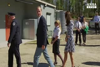 William e Kate a Blue Mountains