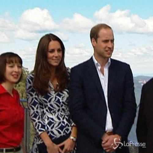 William e Kate visitano le Blue Montains e le zone ...
