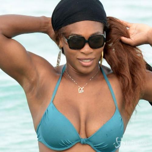 Serena Williams, gionata di relax a Miami Beach