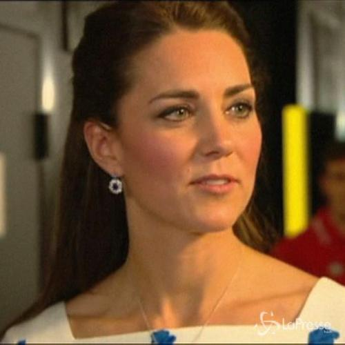 William e Kate visitano una base militare australiana