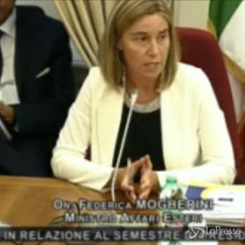 Mogherini: Serve un cessate il fuoco bilaterale in Ucraina