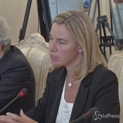 Mogherini incontra Lavrov: Progetto di South Stream importante per l'Italia