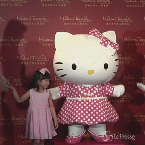 Hello Kitty ha la sua statua di cera al Madame Tussauds di ...