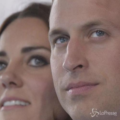 Kate casual ma incantevole con William a Giochi ...
