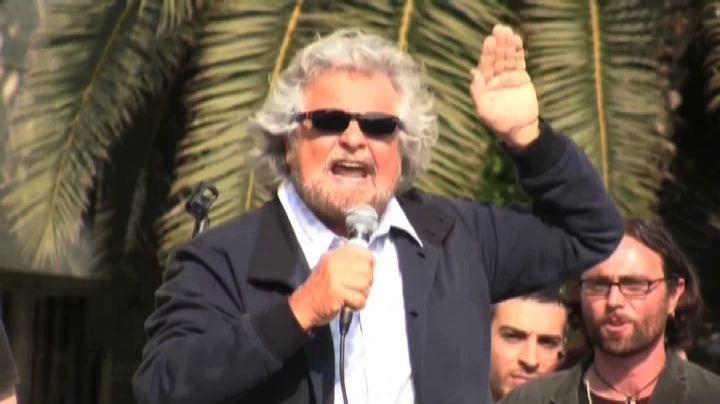 Grillo: via dal Parlamento se non fermeremo colpo Stato