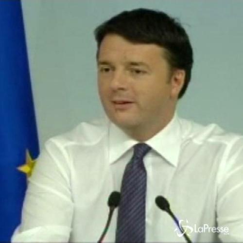 Riforme, Renzi: Dialogo con tutti, ma no ai corporativismi