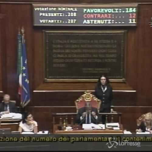Riforme, il Senato approva l'articolo 3 sui senatori a vita