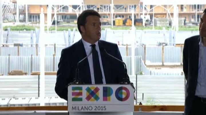 Renzi all'Expo: c'è grande fame di Italia, in tanti ...