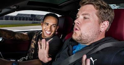 Lewis Hamilton e l'intervista più veloce di sempre