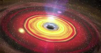 Scoperto misterioso buco nero di taglia media