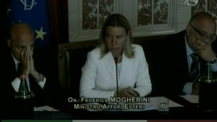 Iraq, Mogherini: aiuti ok, ma serve quadro sostenibile ...