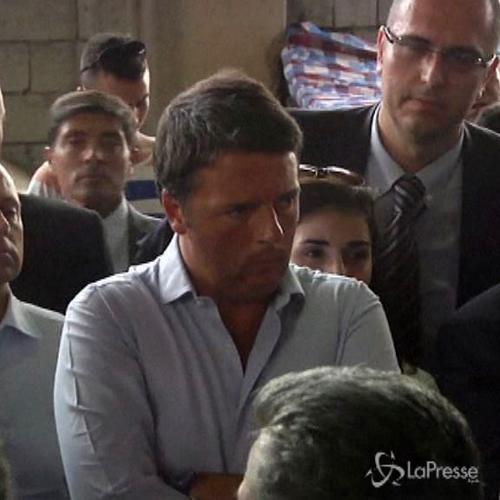 Renzi in Iraq: E' una nuova Srebrenica, l'Ue non volterà ...