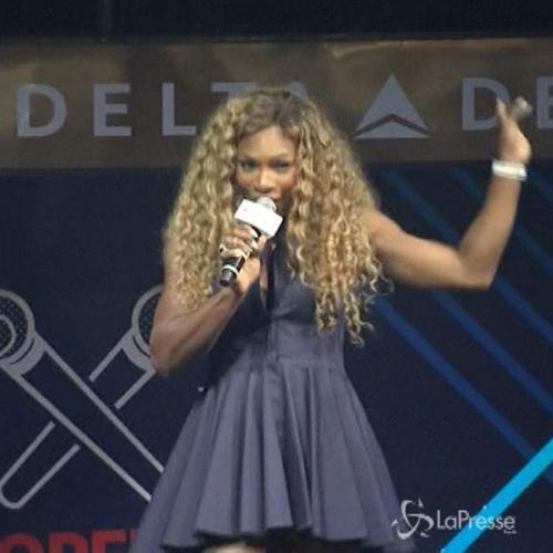 Serena Williams si improvvisa cantante prima degli Us Open  ...