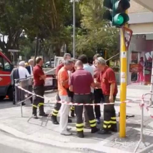 Roma, esplosione in una cantiere: feriti tre operai