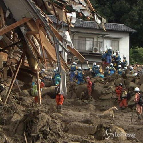 Giappone, sale bilancio vittime frana Hiroshima: 39 morti e ...