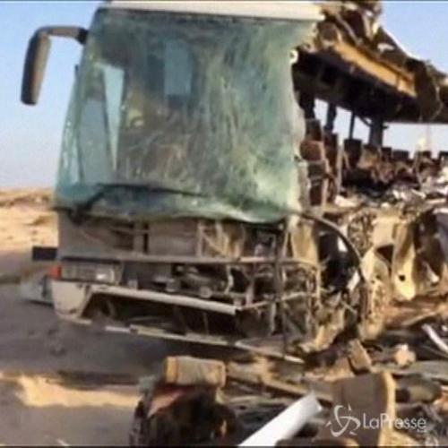 Egitto, scontro fra due bus in Sinai: 38 morti, 41 feriti   ...