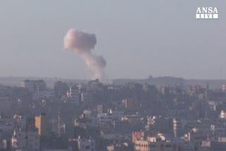 Hamas: bimbo ucciso, razzo su sinagoga