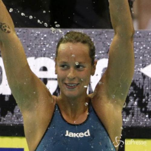 Europei nuoto, Pellegrini immensa: vince l'oro nei 'suoi' ...