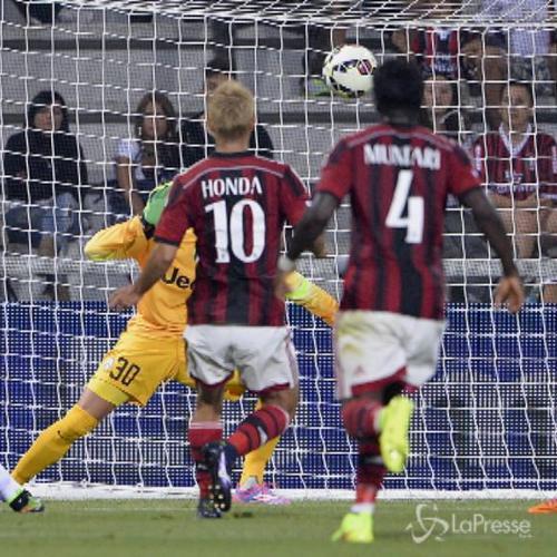 Trofeo Tim, tra Juventus e Sassuolo svetta il Milan