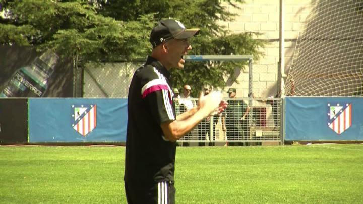 Il debutto di Zidane come allenatore, esordio con sconfitta ...