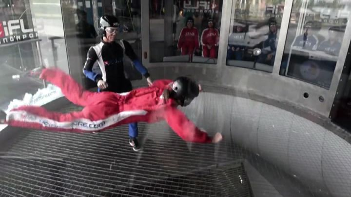 Sport estremi ma senza rischi: il simulatore di caduta ...
