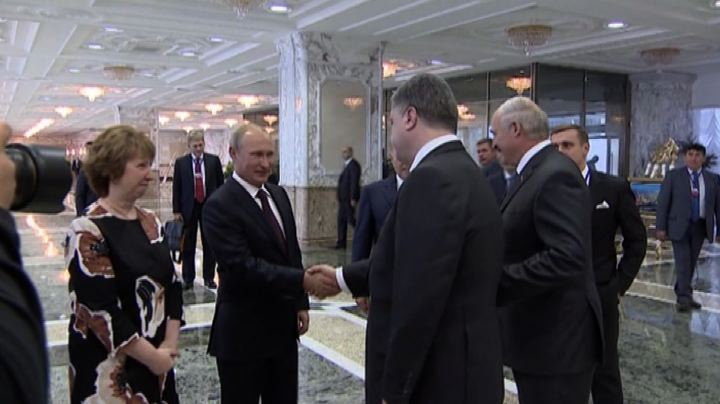 Venti di pace in Ucraina, positivo il vertice a Minsk
