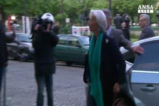 """Lagarde indagata per """"negligenza"""" in caso Tapie"""