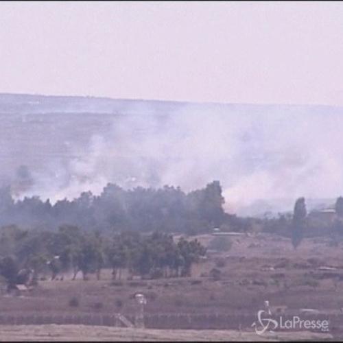 Israele spara su esercito siriano dal Golan: ferito un ...