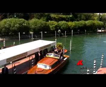 Arrivo del presidente Giorgio Napolitano al festival del ...