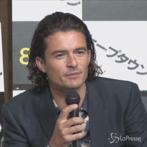Orlando Bloom emozionato presenta il film 'Zulu-Cape ...